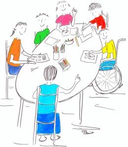 autour de la table
