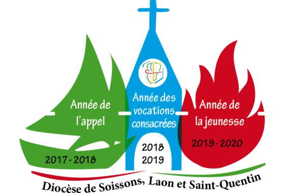 20180710 - Logo Trienium 3 années avec version vocations consacrées