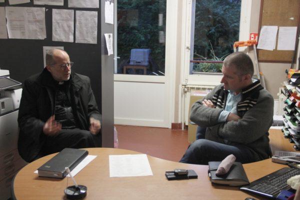 Visite de Coalia et rencontre avec le directeur