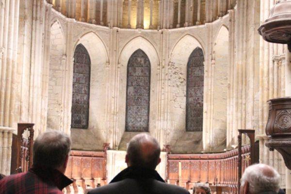 Visite de l'abbatiale d'Essômes sur Marne