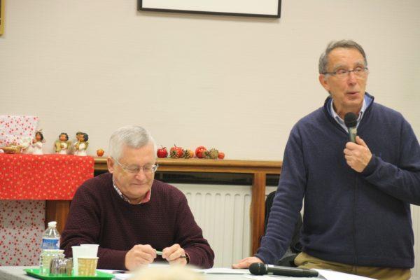 Le Père Jean-Marie ONFRAY et Bruno COEVOET