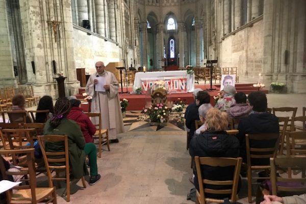 20190526 - Pérégrination reliques sainte Thérèse Basilique de Saint-Quentin 1