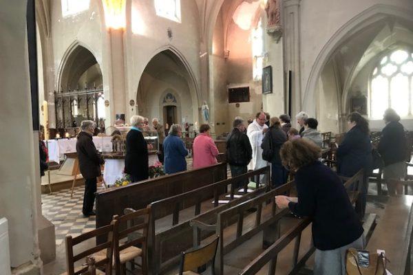 20190528 - Pérégrination reliques sainte Thérèse Sains Richaumont (1)