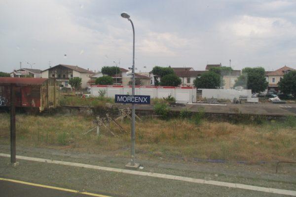 Gare de Morcenx pour un arrêt imprévu !