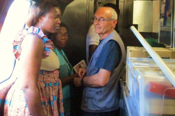 La prière du Chapelet animé par le groupe Voyage de l'Espérance du Secours Catholique…