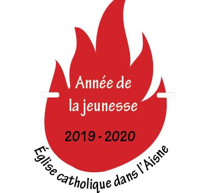 20190917 - Logo Année de la jeunesse Eglise catholique dans l'Aisne