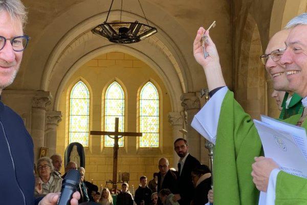 20191013 - Accueil de l'abbé Thierry Gard dans la paroisse Notre-Dame des Trois Vallées (1)