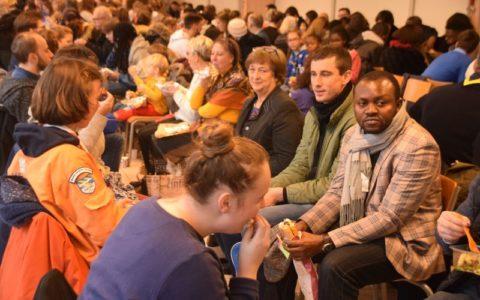 20191201 - Assemblée diocésaine - Déjeuner (7)