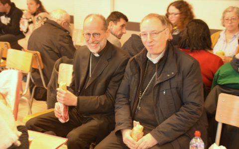 20191201 - Assemblée diocésaine - Déjeuner Mgr de Dinechin et Mgr Feillet (5)