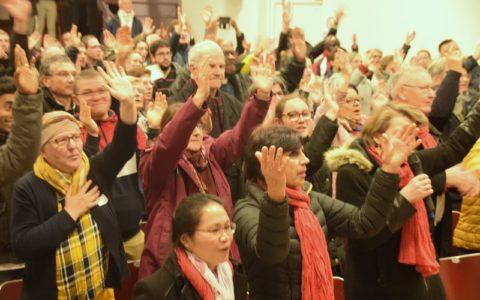 20191201 - Assemblée diocésaine - Louange (2)