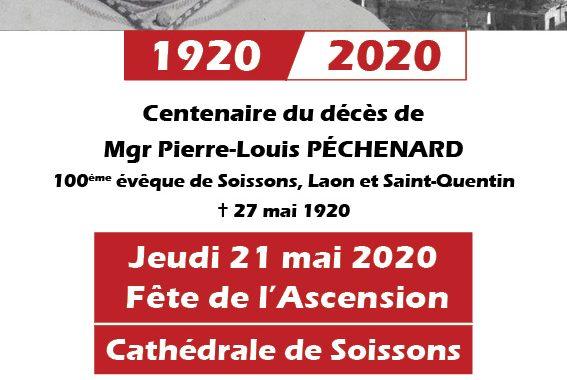 20200521 - Centenaire décès Mgr Péchenard