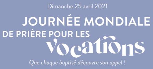 Illustration journée mondiale des vocations 2021