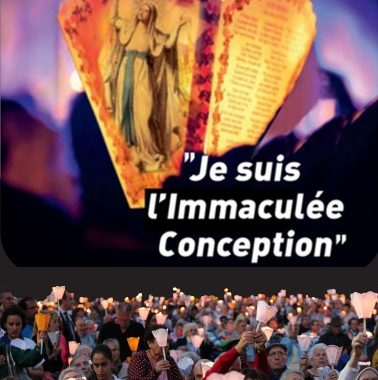 Lourdes 2021 Je suis l'Immaculée Conception